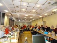 Bild: P. Braun - Mitglieder und Interessenten bei der Eröffnung der Aktionstage im 'Hotel Am Ring' in Neubrandenburg