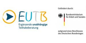 EUTB und BMAS Logo